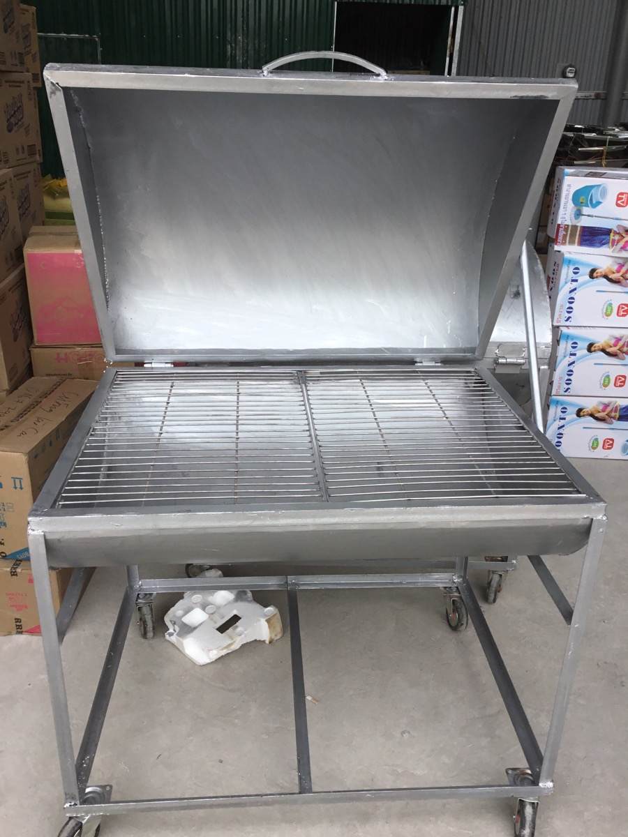 cấu tạo lò nướng than inox 304